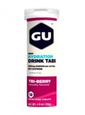 GU brew electrolyte tables flavour tre berry