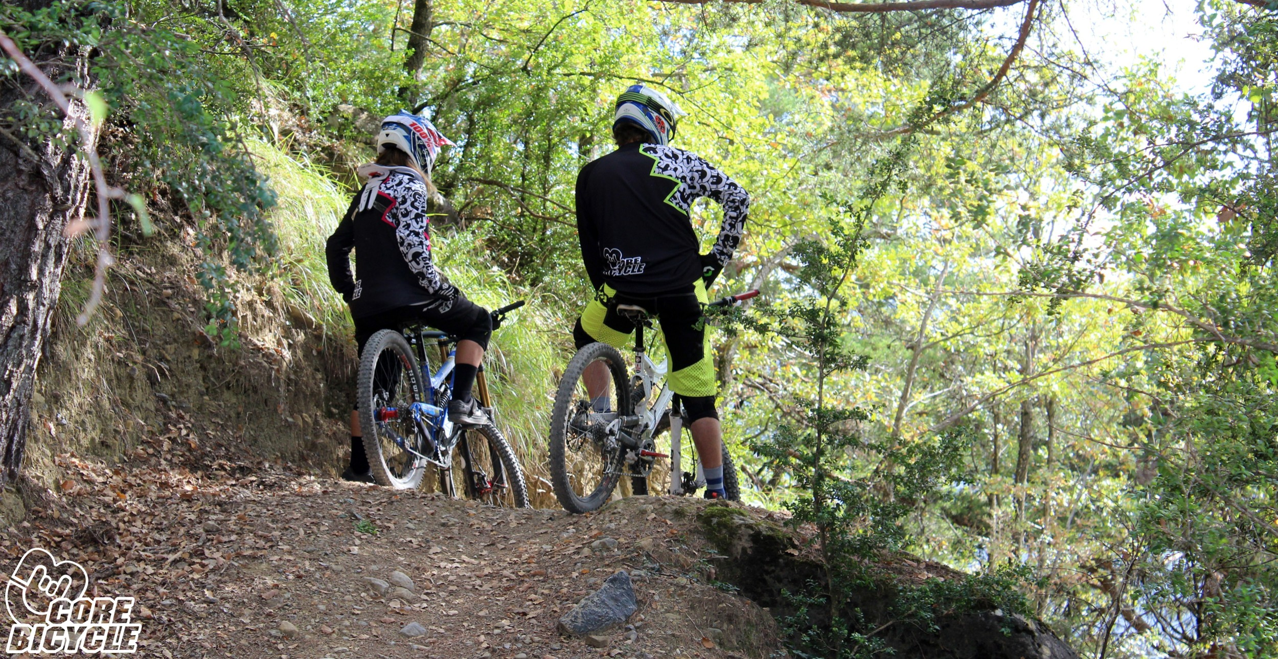 CoreBicycle en Biescas DH