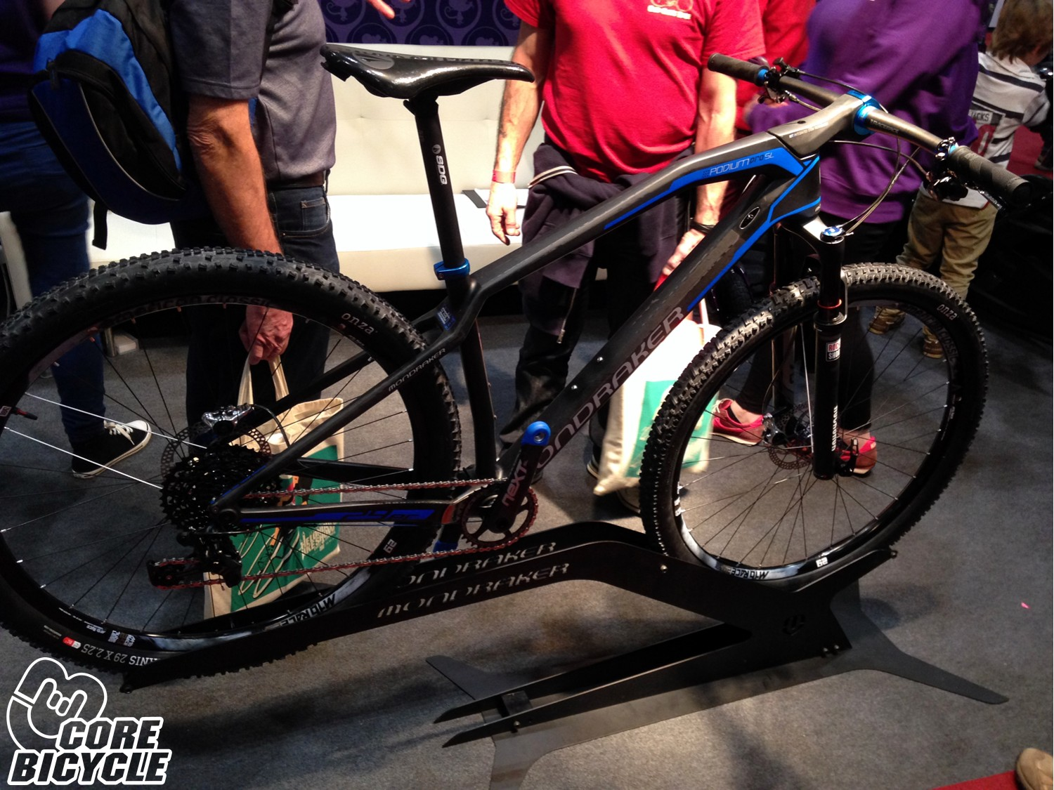 "Mondraker Carbon Podium Pro SL ""hi-tech"" london bike show"