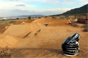 pista de 4x fourcross CoreBicycle Moon Light Bike Park, Yecla, Murcia, España, Spain