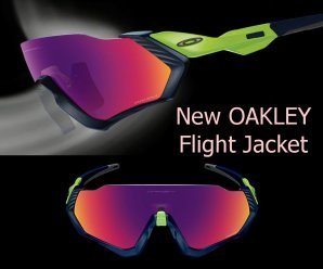 Gafas de ciclismo Oakley Flight Jacket 2018 - con la mayor de las ...