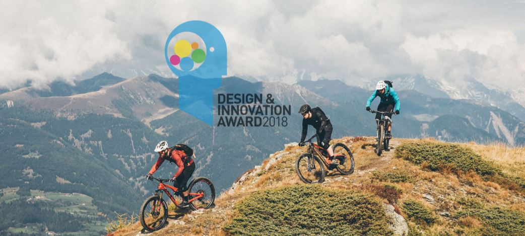 Bicicleta de MTB WHYTE BIKE S150 C RS premiada en el design and innovation award