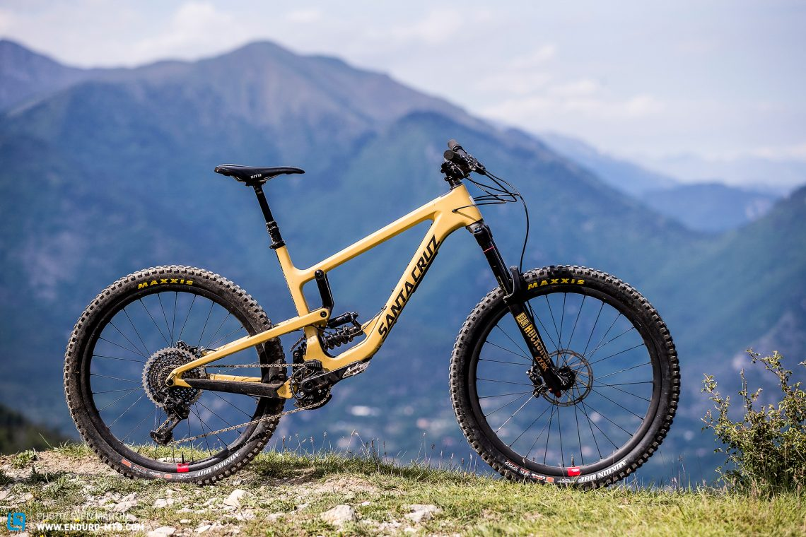 New Bicycle Santa Cruz Nomad 4 for enduro 2017 2018 - sale online at the best price