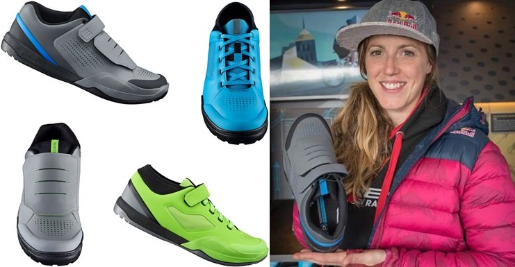 New Shimano 2017/2018 cycling shoes for Enduro, Freeride and DH - AM901, AM701, GR900, GR700 and GR700 women